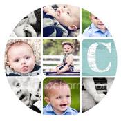 modern baby collage