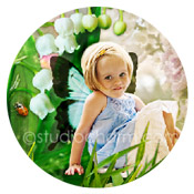 studiocham lily of the valley fairy storybook canvas