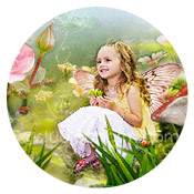 studiocharm rose fairy storybook canvas