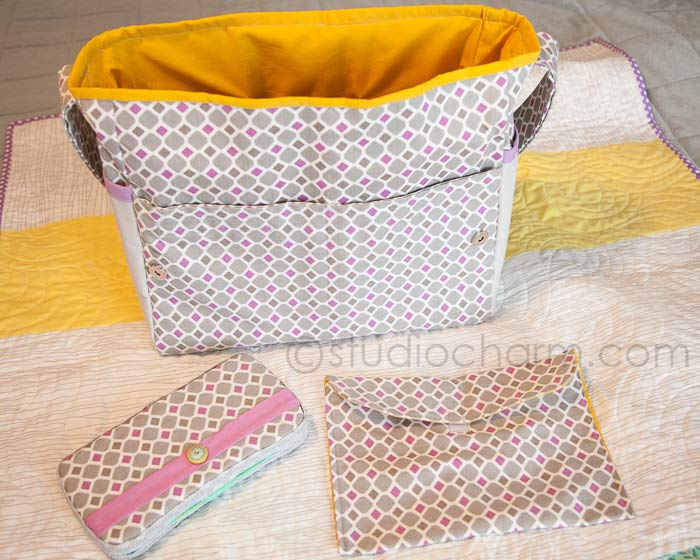 studiocharm diaper bag