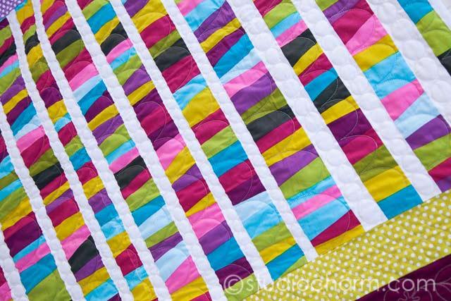 studiocharm ultra quick modern baby quilt