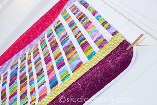 studiocharm modern baby quilt
